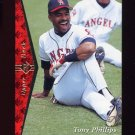 1995 SP Baseball #136 Tony Phillips - California Angels