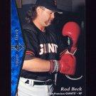 1995 SP Baseball #112 Rod Beck - San Francisco Giants