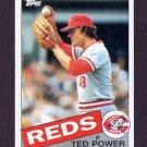 1985 Topps Baseball #342 Ted Power - Cincinnati Reds