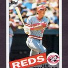 1985 Topps Baseball #107 Tom Foley - Cincinnati Reds