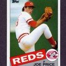1985 Topps Baseball #082 Joe Price - Cincinnati Reds
