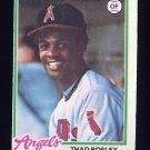 1978 Topps Baseball #619 Thad Bosley RC - California Angels