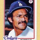 1978 Topps Baseball #539 Vic Davalillo - Los Angeles Dodgers Ex