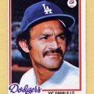 1978 Topps Baseball #539 Vic Davalillo - Los Angeles Dodgers VgEx