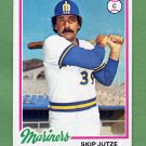 1978 Topps Baseball #532 Skip Jutze - Seattle Mariners