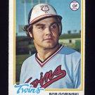 1978 Topps Baseball #386 Bob Gorinski - Minnesota Twins