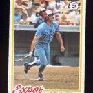 1978 Topps Baseball #348 Del Unser - Montreal Expos