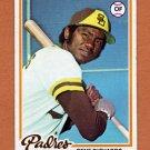 1978 Topps Baseball #292 Gene Richards - San Diego Padres