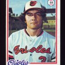 1978 Topps Baseball #287 Kiko Garcia - Baltimore Orioles