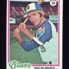 1978 Topps Baseball #217 Rod Gilbreath - Atlanta Braves
