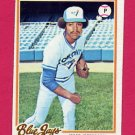 1978 Topps Baseball #144 Jesse Jefferson - Toronto Blue Jays