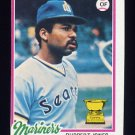 1978 Topps Baseball #141 Ruppert Jones - Seattle Mariners