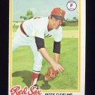 1978 Topps Baseball #105 Reggie Cleveland - Boston Red Sox
