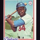 1978 Topps Baseball #104 Lee Lacy - Los Angeles Dodgers