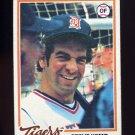 1978 Topps Baseball #021 Steve Kemp - Detroit Tigers
