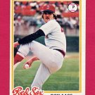 1978 Topps Baseball #012 Don Aase - Boston Red Sox
