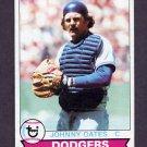 1979 Topps Baseball #104 Johnny Oates - Los Angeles Dodgers