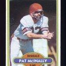 1980 Topps Football #268 Pat McInally - Cincinnati Bengals
