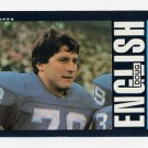 1985 Topps Football #058 Doug English - Detroit Lions