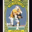 1986 Topps Football 1000 Yard Club #07 James Wilder - Tampa Bay Buccaneers