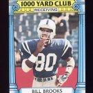 1987 Topps Football 1000 Yard Club #15 Bill Brooks - Indianapolis Colts