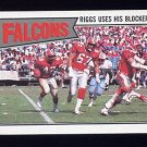 1987 Topps Football #248 Atlanta Falcons Team Leaders