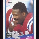 1988 Topps Football #186 Andre Tippett - New England Patriots