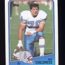 1988 Topps Football #112 Ray Childress - Houston Oilers