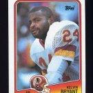 1988 Topps Football #010 Kelvin Bryant - Washington Redskins