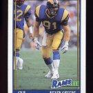 1991 Topps Football #542 Kevin Greene - Los Angeles Rams