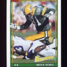 1991 Topps Football #440 Brian Noble - Green Bay Packers