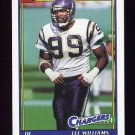 1991 Topps Football #432 Lee Williams - San Diego Chargers