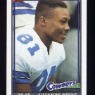 1991 Topps Football #362 Alexander Wright - Dallas Cowboys