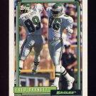 1992 Topps Football #576 Fred Barnett - Philadelphia Eagles
