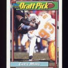 1992 Topps Football #208 Chris Mims RC - San Diego Chargers