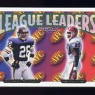 1993 Topps Gold Football #216 Audray McMillian / Henry Jones League Leaders