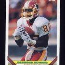 1993 Topps Football #616 Desmond Howard - Washington Redskins
