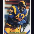 1993 Topps Football #471 Cleveland Gary - Los Angeles Rams
