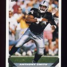 1993 Topps Football #417 Anthony Smith - Los Angeles Raiders
