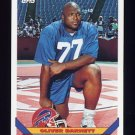 1993 Topps Football #392 Oliver Barnett - Buffalo Bills