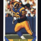 1993 Topps Football #380 Marc Boutte - Los Angeles Rams