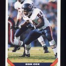 1993 Topps Football #372 Ron Cox - Chicago Bears