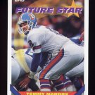 1993 Topps Football #124 Tommy Maddox - Denver Broncos