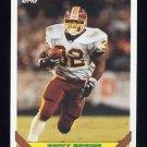 1993 Topps Football #117 Ricky Ervins - Washington Redskins