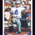 1993 Topps Football #038 Mike Saxon - Dallas Cowboys