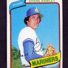 1980 Topps Baseball #723 Shane Rawley - Seattle Mariners