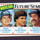 1980 Topps Baseball #664 Mike Colbern / Guy Hoffman / Dewey Robinson - Chicago White Sox