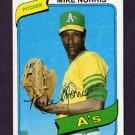1980 Topps Baseball #599 Mike Norris - Oakland A's Vg