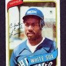 1980 Topps Baseball #589 Chet Lemon - Chicago White Sox
