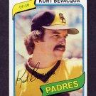1980 Topps Baseball #584 Kurt Bevacqua - San Diego Padres Vg